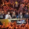Exclusif. Le jury de Rising Star, lors du prime 6 diffusé le 30 octobre 2014.