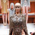 Amber Rose - Défilé de mode Laurel DeWitt prêt à porter Automne-Hiver 2015 lors de la fashion week à New York, le 15 février 2015.