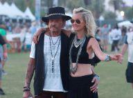Johnny Hallyday et Laeticia : Diaboliquement amoureux à Coachella !