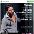 Thomas Vergara bientôt présent à Paris au même salon que Nabilla ?
