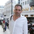 Exclusif - Yann Moix à Paris, le 23 octobre 2013.