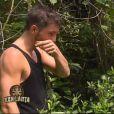 Cédric dans Koh-Lanta 2015, le vendredi 24 avril 2015, sur TF1