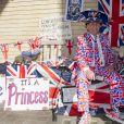 Les admirateurs du duc et de la duchesse de Cambridge ont colonisé les abords de la maternité de l'hôpital St Mary en avril 2015 dans l'attente de la naissance de leur second enfant.
