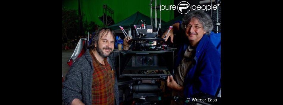Peter Jackson et ami directeur de la photo Andrew Lesnie.