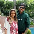 Ciara et Future lors de leur baby-shower à Los Angeles. Le 22 mars 2014.