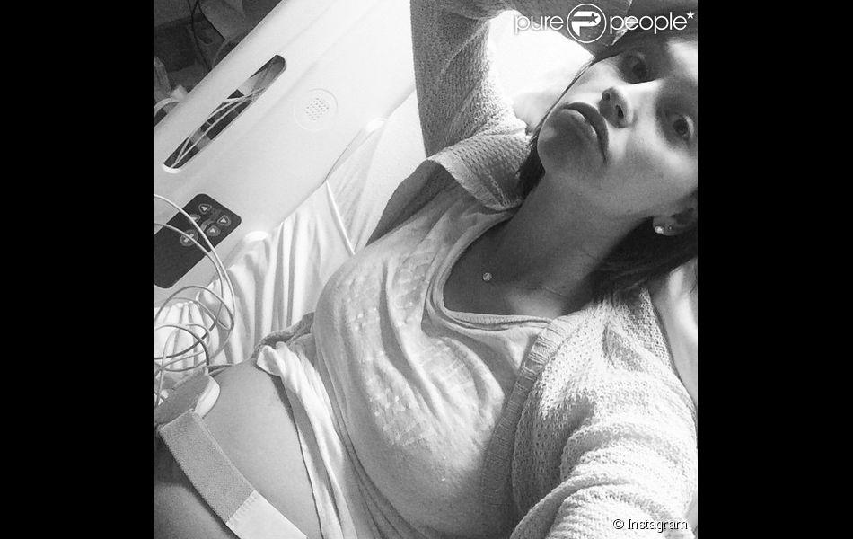 Lisa Osbourne a ajouté une photo d'elle à l'hôpital sur son compte Instagram, le 28 avril 2015