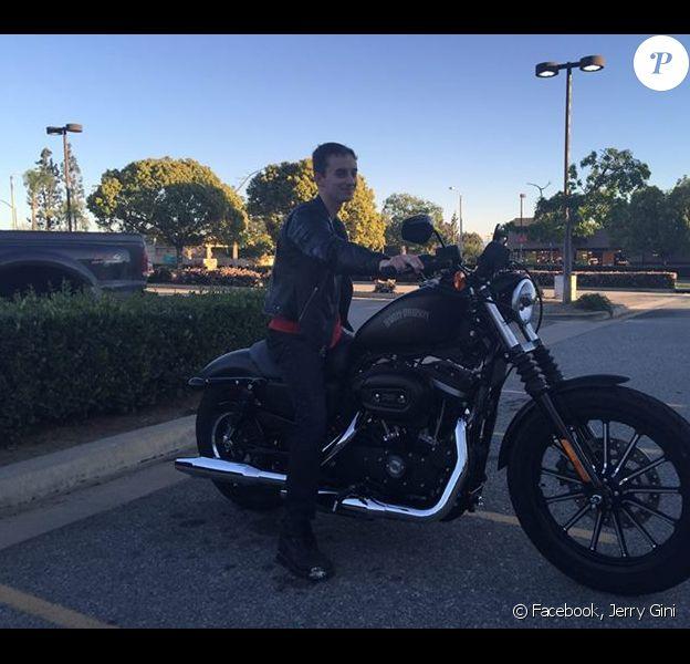 Sawyer Sweeten sur sa moto - phot publiée par son père sur son compte Facebook le 13 mars 2014