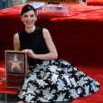 L'actrice Julianna Margulies reçoit son étoile sur le  Walk of Fame  à Hollywood, le 1er mai 2015.