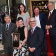 Julianna Margulies, Michael J. Fox - Julianna Margulies reçoit son étoile sur le  Walk of Fame  à Hollywood, le 1er mai 2015.