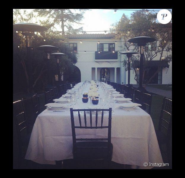 Sur son compte Instagram, Lori Loughlin a ajouté une photo de son jardin le 28 novembre 2014