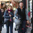 Lori Loughlin et son mari Massimo Giannulli font du shopping a Aspen, le 26 decembre 2013.