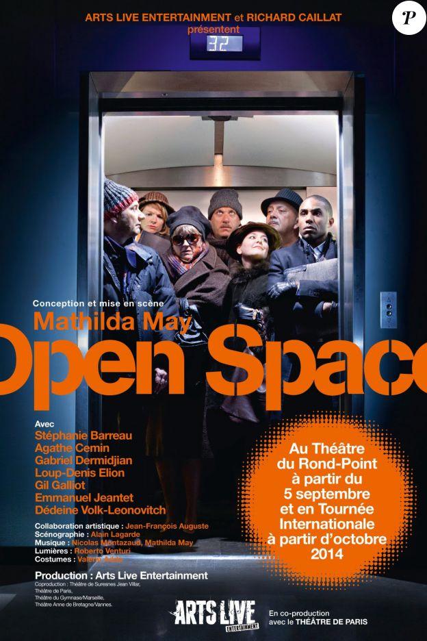 Le spectacle Open Space au théâtre de Paris jusqu'au 31 mai 2015