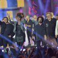 Emile et images, Julie Piétri, Phil Barney, Joniece Jamison, Jean Schultheis, Patrick Hernandez - Concert Stars 80 au Stade de France à Saint-Denis le 9 mai 2015.