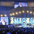 Gilbert Montagné - Concert Stars 80 au Stade de France à Saint-Denis le 9 mai 2015.