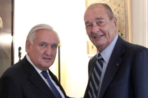Jacques Chirac affaibli mais blagueur : Retrouvailles avec un ami cher...