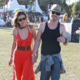 Nina Dobrev, Ian Somerhalder au festival Coachella, le 16 avril 2012