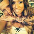 Benjamin des  Anges de la télé-réalité 6  et sa nouvelle petite amie Sarah filent le parfait amour. Photos prises sur le Twitter du jeune homme, 2014.