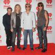 Tico Torres, David Bryan, Jon Bon Jovi et Richie Sambora au festival iHeart Radio à Las Vegas, le 21 septembre 2012.