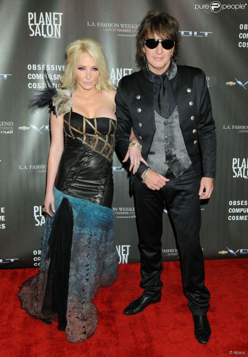 Nikki Lund et Richie Sambora à Los Angeles, en 2010.