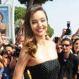 Miranda Kerr à Cannes le 14 mai 2015.