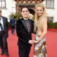 Juan Diego Florez et Frau Julia lors du Life Ball 2015 à Vienne, le 16 mai 2015