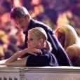 Charlize Theron et Sean Penn s'embrassent lors du Life Ball 2015 à Vienne, le 16 mai 2015