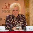 Ellen von Unwerth à la conférence de presse «Life Ball Gold» à Vienne, le 16 mai 2015