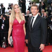Antonio Banderas et sa chérie Nicole : Il fait le show en amoureux à Cannes