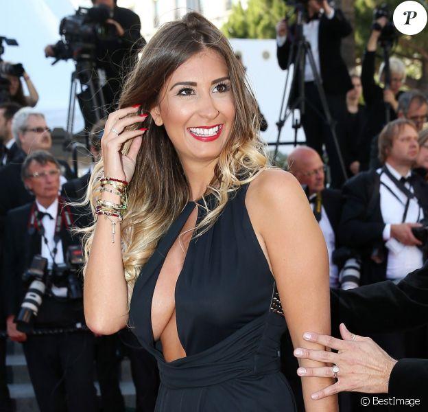 """Martika Caringella (Bachelor 2014) - Montée des marches du film """"Youth"""" lors du 68 ème Festival International du Film de Cannes, à Cannes le 20 mai 2015."""