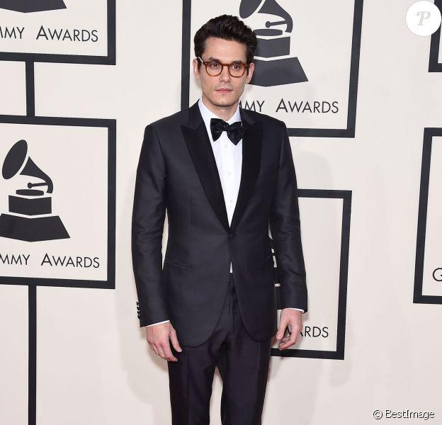 John Mayer - 57e soirée annuelle des Grammy Awards au Staples Center à Los Angeles, le 8 février 2015.