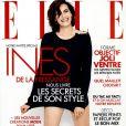 Inès de la Fressange en couverture du magazine ELLE