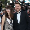 "Christophe Michalak et sa femme Delphine McCarty - Montée des marches du film ""The Little Prince"" (Le Petit Prince) lors du 68 ème Festival International du Film de Cannes, à Cannes le 22 mai 2015."