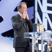 Vincent Lindon, en larmes : 'C'est la 1re fois de ma vie que je reçois un prix'