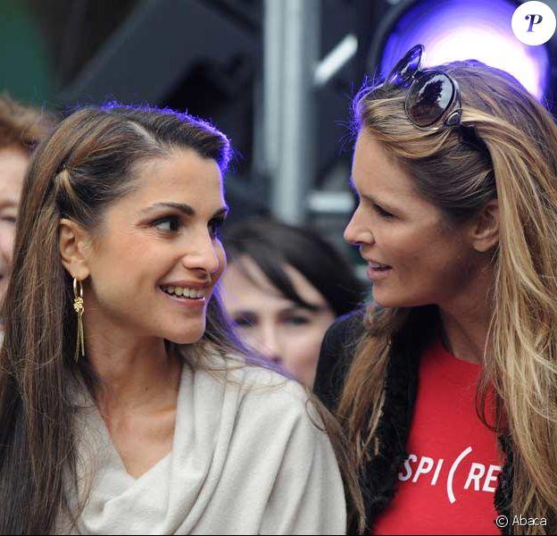 Rania de Jordanie et Elle Macpherson