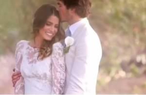 Nikki Reed dévoile une vidéo romantique de son mariage avec Ian Somerhalder