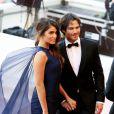 """Nikki Reed et son mari Ian Somerhalder - Montée des marches du film """"Youth"""" lors du 68 ème Festival International du Film de Cannes, à Cannes le 20 mai 2015"""