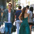 Jonathan Rhys-Meyers à Los Angeles, le août 2014.