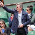 Philippe Caroit - People dans les tribunes des Internationaux de France de tennis de Roland-Garros à Paris le 31 mai 2015.