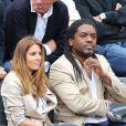 Anthony Kavanagh et sa femme Alexandra - People à Roland-Garros à Paris le 31 mai 2015.