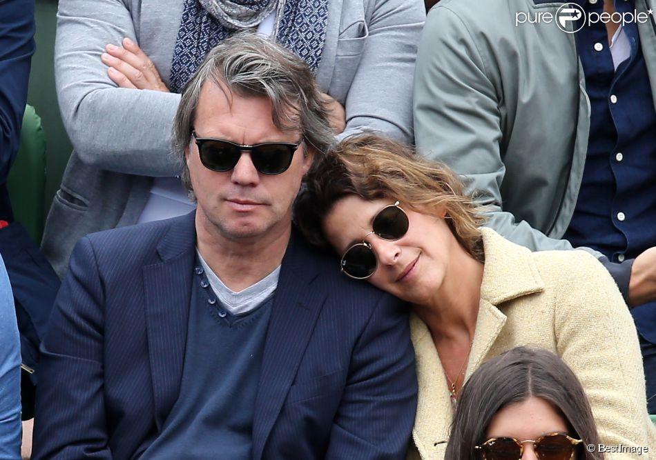 Isabelle Gelinas et son compagnon - People à Roland-Garros ...