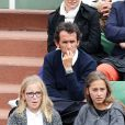 Alexandre Bompard - People à Roland-Garros à Paris le 31 mai 2015.