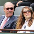 Stan Smith - People à Roland-Garros à Paris le 31 mai 2015.