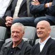 Didier Deschamps et Guy Stéphan - People à Roland-Garros à Paris le 31 mai 2015.