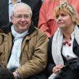 Jean-Paul Huchon - People à Roland-Garros à Paris le 31 mai 2015.