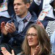 Mary Pierce - People à Roland-Garros à Paris le 31 mai 2015.