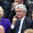 Catherine Ceylac et Claude Serillon - People à Roland-Garros à Paris le 31 mai 2015.