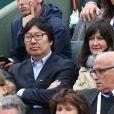 Jean-Vincent Placé à Roland-Garros à Paris le 31 mai 2015.