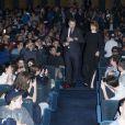 """Chris Pratt et Bryce Dallas Howard - Première du film """"Jurassic World"""" à l'Ugc Normandie à Paris le 29 mai 2015."""