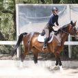 Iggy Azalea fait son entraînement d'équitation à Los Angeles. Le 11 mai 2015