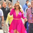 Mariah Carey arrive à Disneyland à Anaheim, Los Angeles, le 19 mai 2015
